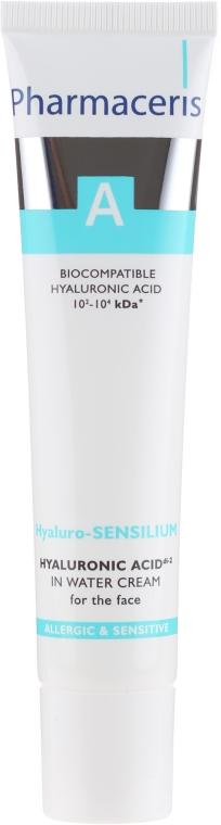 Gesichtscreme mit Hyaluronsäure für empfindliche und allergische Haut - Pharmaceris A Hyaluro-sensilium — Bild N2