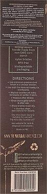Zahnbürste mit Ständer weich weiß - The Natural Family Co Bio Brush & Stand Ivory Desert — Bild N2