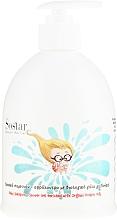Düfte, Parfümerie und Kosmetik 2in1 Shampoo und Duschgel mit Bio Eselslmilch - Sostar Baby Shampoo Shower Gel Enriched With Organic Donkey Milk