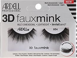 Düfte, Parfümerie und Kosmetik 3D Künstliche Wimpern 854 - Ardell 3D Faux Mink 854