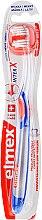 Düfte, Parfümerie und Kosmetik Zahnbürste weich transparent-blau-orange - Elmex Toothbrush Caries Protection InterX Soft Short Head