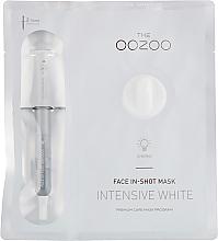 Düfte, Parfümerie und Kosmetik Aufhellende Ampullen-Tuchmaske gegen Unvollkommenheiten - The Oozoo Face In-Shot Mask Intensive White
