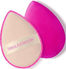 Düfte, Parfümerie und Kosmetik Doppelseitiger Puderquast - Beautyblender Power Pocket Puff Dual Sided Powder Puff