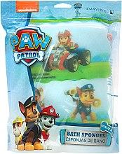 "Düfte, Parfümerie und Kosmetik Badeschwamm-Set ""Paw Patrol"" 3 St. - Suavipiel Paw Patrol Chase Ryder Rescue Racers Bath Sponge"
