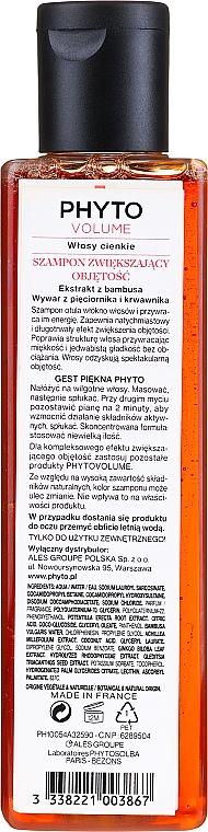 Shampoo für mehr Volumen für dünnes und flaches Haar - Phyto Volumizing shampoo Phytovolume — Bild N2