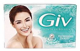 Düfte, Parfümerie und Kosmetik Erfrischende Seife mit Perlenextrakt - Giv Beauty Soap Refreshing