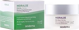 Düfte, Parfümerie und Kosmetik Feuchtigkeitsspendende Gesichtscreme - SesDerma Laboratories Hidraloe Moisturizing Face Cream