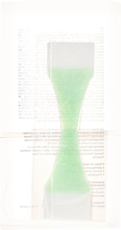 Set Enthaarungsstreifen für die Oberlippe für Damen - Andmetics Lip Wax Strips Women (strips/8x2pc + wipes/4pc) — Bild N2