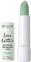 Düfte, Parfümerie und Kosmetik Antibakterieller Korrekturstift mit Teebaum und Limette für fettige Haut - Oriflame Love Nature