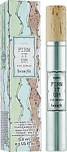 Düfte, Parfümerie und Kosmetik Aufhellendes und straffendes Augenserum für empfindliche Haut - Benefit Firm It Up! Eye Serum