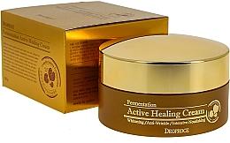Düfte, Parfümerie und Kosmetik Intensiv pflegende Gesichtscreme mit aktivem Sauerstoff - Deoproce Fermentation Active Healing Cream