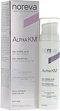 Düfte, Parfümerie und Kosmetik Nährendes Anti-Falten Creme-Gel für den Tag - Noreva Laboratoires Alpha KM Day Cream-Gel Anti-Wrinkle Care