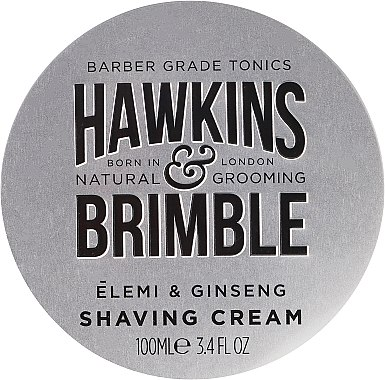 Rasiercreme - Hawkins & Brimble Elemi & Ginseng Shaving Cream — Bild N1