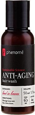 Haarpflegeset - Phenome Sustainable Science (Shampoo 50ml + Creme 10ml + Maske 10ml + Peelingpaste 10ml + Duschgel 50ml) — Bild N3