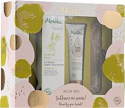 Düfte, Parfümerie und Kosmetik Handpflegeset - Melvita Beauty For Your Hands Set (Handcreme 30ml + Hand- und Nagelöl 50ml + Nagelfeile 1 St.)