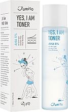 Düfte, Parfümerie und Kosmetik Alkoholfreies Gesichtstonikum mit AHA-Säuren für alle Hauttypen - HelloSkin Jumiso Yes I Am Toner AHA 5%