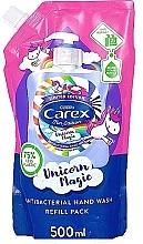 Düfte, Parfümerie und Kosmetik Flüssige antibakterielle Handseife - Carex Unicorn Magic Antibacterial Handwash (Doypack)