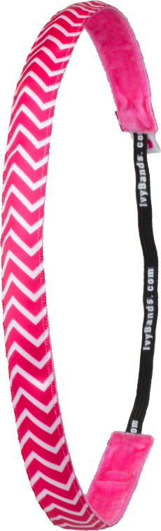 Haarband Chevron Pink - Ivybands