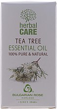 "Düfte, Parfümerie und Kosmetik Ätherisches Öl ""Teebaum"" - Bulgarian Rose Herbal Care Tea Tree Essential Oil"