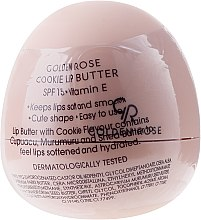 Düfte, Parfümerie und Kosmetik Lippenbalsam mit Vitamin E - Golden Rose Lip Butter SPF15 Cookie