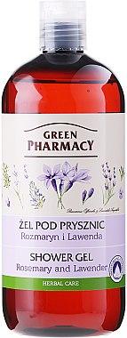 "Duschgel ""Rosmarin & Lavendel"" - Green Pharmacy — Bild N1"