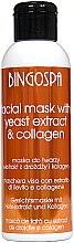 Düfte, Parfümerie und Kosmetik Gesichtsreinigungsmaske mit Bierhefeextrakt und Kollagen - BingoSpa Mask With Brewer's Yeast Extract And Collagen