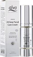 Schützende und pflegende 24h-Gesichtscreme für empfindliche Haut - Alva Sensitiv 24 Stunden Creme — Bild N1