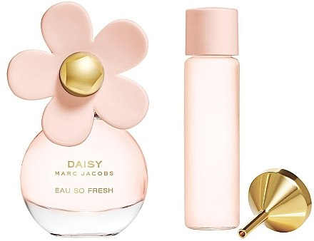 Marc Jacobs Daisy Eau So Fresh - Duftset (Eau de Toilette 20ml + Eau de Toilette 15ml nachfüllbar) — Bild N1