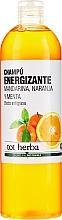 Düfte, Parfümerie und Kosmetik Energiespendendes Shampoo mit Mandarine, Orange und Minze - Tot Herba Tangerine and Orange Energizing Shampoo