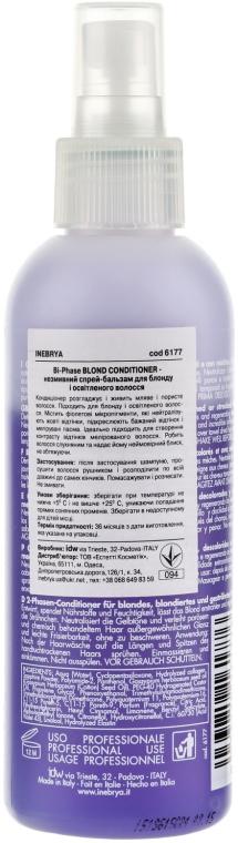 2-phasige Haarspülung für blondes Haar - Inebrya Age Therapy Bi-Phase Blonde Conditioner — Bild N2