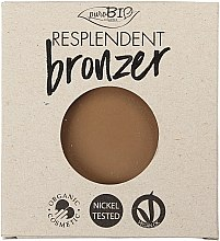 Düfte, Parfümerie und Kosmetik Bronzepuder Nachfüller - PuroBio Cosmetics Resplendent Bronzer