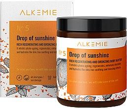 Düfte, Parfümerie und Kosmetik Regenerierende und bronzierende Körperbutter - Alkemie Drop Of Sunshine Regenerating & Bronzing Body Butter