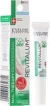 Düfte, Parfümerie und Kosmetik Feuchtigkeitsspendendes Serum für Nägel und Nagelhaut mit Aloe - Eveline Cosmetics Nail Therapy Professional Serum Aloe Conditioner