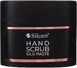 Düfte, Parfümerie und Kosmetik Peelingpaste für die Hände - Silcare Hand Scrub Silk Paste (Mini)