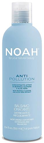 Feuchtigkeitsspendender, entwirrender und ausgleichender Haarconditioner mit Aloe Vera - Noah Anti Pollution Moisturizing Conditioner — Bild N1