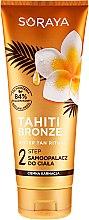 Düfte, Parfümerie und Kosmetik Bräunungslotion für dunkle Haut - Soraya Tahiti Bronze 2 Step Lotion for Dark Skin