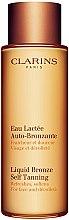Düfte, Parfümerie und Kosmetik Selbstbräuner für Gesicht und Dekolleté - Clarins Liquid Bronze Self Tanning