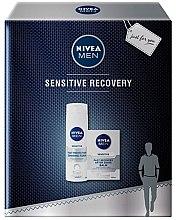 Düfte, Parfümerie und Kosmetik Rasierset - Nivea Men Sensitive Recovery (Rasierschaum 200ml + After Shave Balsam 100ml)