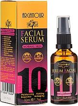 Düfte, Parfümerie und Kosmetik Pflegendes Anti-Aging Gesichtsserum für normale Haut mit 10 wertvollen Ölen - Arganour Arganour Facial Serum Normal Skin