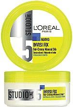 Düfte, Parfümerie und Kosmetik Modellierendes Creme-Gel für das Haar Starker Halt - L'Oreal Paris Studio Line Invisi Fix Mineral Gel Cream
