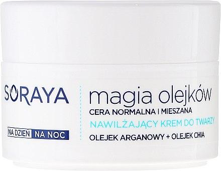 Feuchtigkeitsspendende Gesichtscreme - Soraya Magic of Oils Hydrating Cream for Normal & Combination Skin — Bild N2