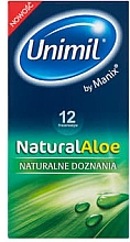 Düfte, Parfümerie und Kosmetik Kondome 12 St. - Unimil Natural Aloe
