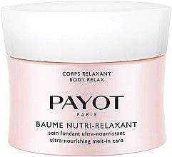 Düfte, Parfümerie und Kosmetik Zartschmelzende ultranährende Körperlotion - Payot Corps Relaxant Baume Nutri-Relaxant