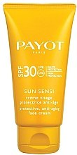 Düfte, Parfümerie und Kosmetik Anti-Aging Sonnenschutzcreme für das Gesicht SPF 30 - Payot Sun Sensi Protective Anti-aging Face Cream