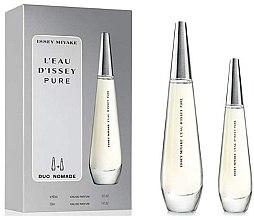 Düfte, Parfümerie und Kosmetik Issey Miyake L'Eau d'Issey Pure - Duftset (Eau de Toilette 90ml + Eau de Toilette 30ml)