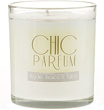 Düfte, Parfümerie und Kosmetik Duftkerze Muschio Bianco e Talco - Chic Parfum Muschio Bianco e Talco Candle