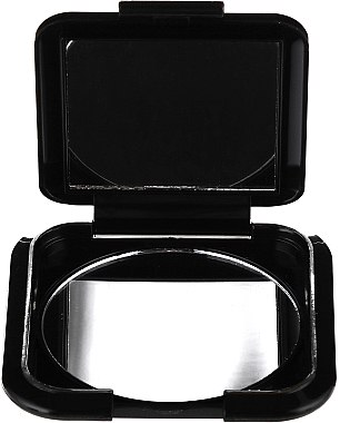 Doppelseitiger Taschenspiegel schwarz 5541 - Top Choice — Bild N3