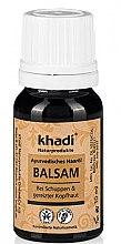 Düfte, Parfümerie und Kosmetik Ayurvedisches Haaröl gegen Schuppen und gereizter Kopfhaut - Khadi Hair Oil (Mini)
