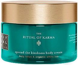 Düfte, Parfümerie und Kosmetik Feuchtigkeitsspendende Körpercreme mit weißem Tee - Rituals The Ritual of Karma Body Cream