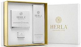 Düfte, Parfümerie und Kosmetik Gesichtspflegeset - Herla Infinite White I (Creme 50ml + Creme 5ml + Tonikum 200ml)